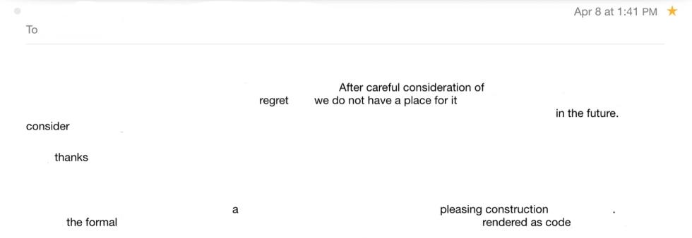 rejection poem (2)